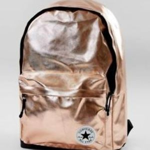 NWT Converse All Star Rose Gold Backpack
